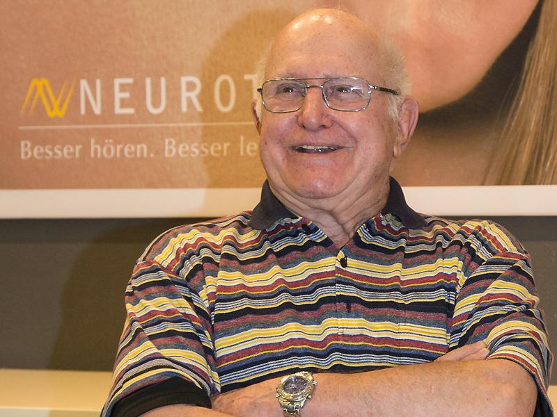 Radio-Reporter-Legende Walter Scheibli