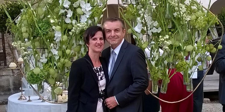 Ein erfolgreiches Doppel: Heinz und Martina