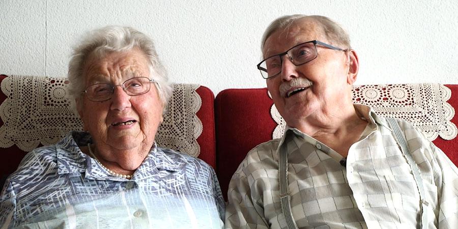 Das Geheimnis für 75 Jahre Ehe: Einander zuhören.